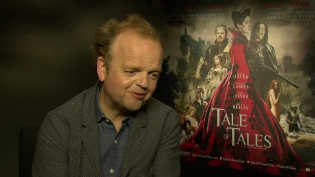 interview toby jones on comparing giambattista basile to geoffrey chaucer the cautionary warnings that are contained in fairytales at 'tale of tales'... - geoffrey chaucer stock videos & royalty-free footage