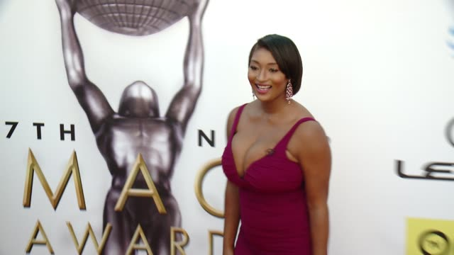 toccara jones at 47th annual naacp image awards at pasadena civic auditorium on february 05 2016 in pasadena california - pasadena civic auditorium stock videos and b-roll footage