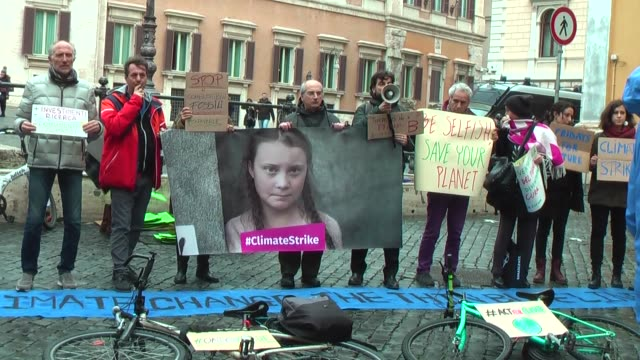 Today in several Italian cities initiatives for the #climatestrike climate will take place with the example of Greta Thunberg the sixteenyearold from...
