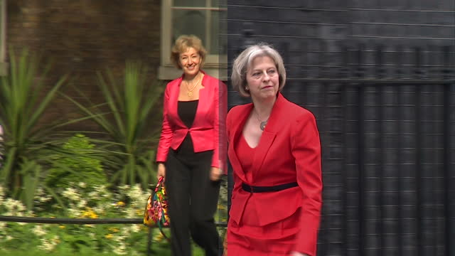 today the main conservative leadership candidates are expected to outline more of their plans ahead of the first ballot of tory mps which will take... - andrea leadsom stock-videos und b-roll-filmmaterial