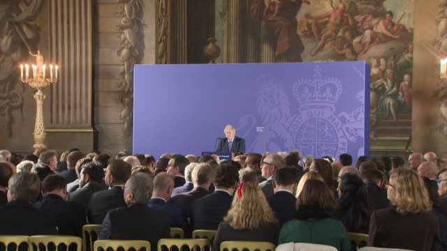 today was the uk's first working day outside the eu since 1972 and boris johnson acted immediately to describe the kind of future relationship he... - royal navy college greenwich stock videos & royalty-free footage