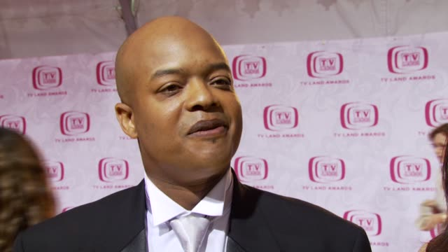 Todd Bridges on being an honoree and what makes a show a classic at the TV Land Awards at Barker Hanger in Santa Monica California on April 14 2007