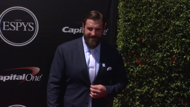 todd herremans at the 2015 espys at microsoft theater on july 15 2015 in los angeles california - microsoft theater los angeles stock videos and b-roll footage