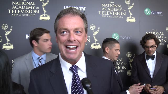 INTERVIEW Todd Newton on the event and on his goals in the industry at the 2014 Daytime Emmy Awards at The Beverly Hilton Hotel on June 22 2014 in...