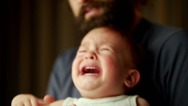 toddler boy crying - modern manhood stock videos & royalty-free footage