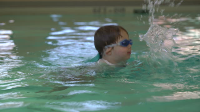 Toddler Child Swimming Lesson