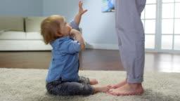Toddler Upset at Lack of Response