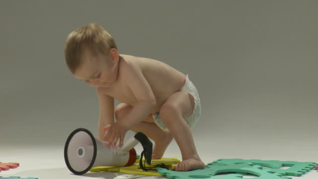 HD: Toddler With A Megaphone