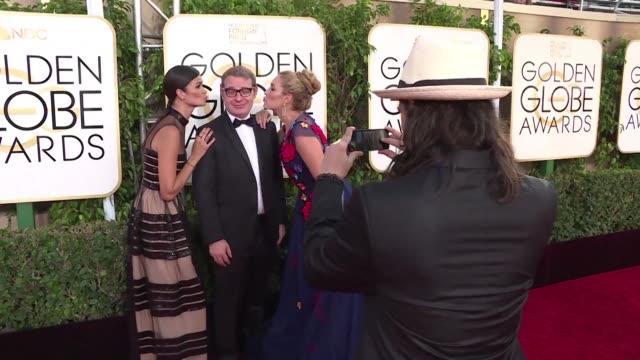 Todo listo el domingo para la gala de los Globos de Oro en Los Angeles que premian lo mejor del cine y la television La La Land es la favorita con...