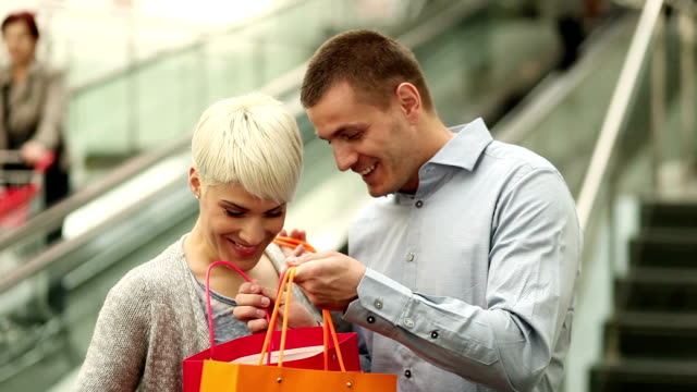 Together in the shopping