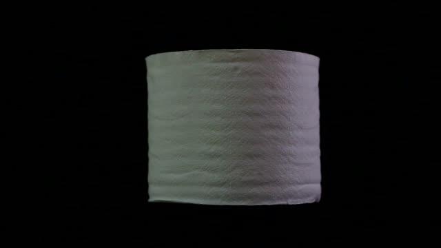 vidéos et rushes de papier toilette  - objet en papier
