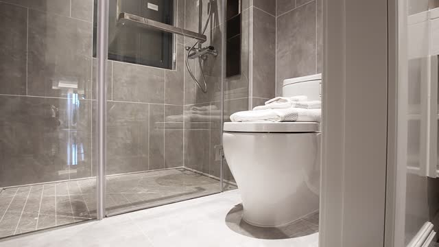 toilet - bathroom stock videos & royalty-free footage