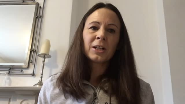 tokyo 2021 olympic games: rumours that delayed games will not go ahead; england: int jo pavey 2 way interview via internet sot - gossip stock videos & royalty-free footage