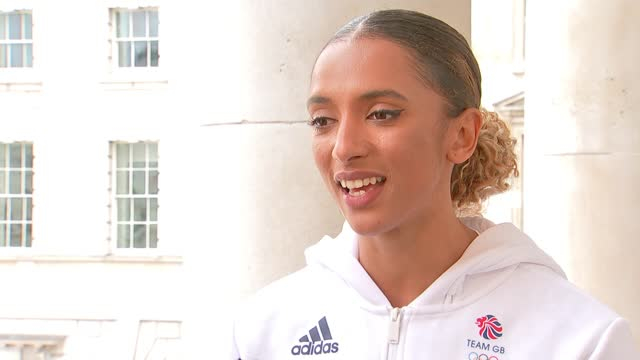 tokyo 2021 olympic games: team gb uniforms and kit revealed; england: ext laviai nielsen interview sot - itv london tonight stock videos & royalty-free footage