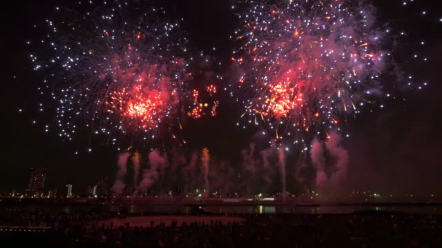 Tokyo adati fireworks