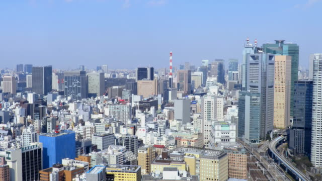 tokyo aerial - tilt up stock videos & royalty-free footage