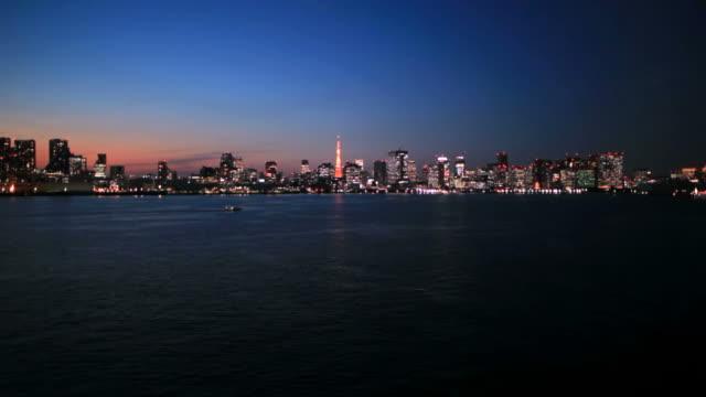 Tokyo at dark night(timelapse)