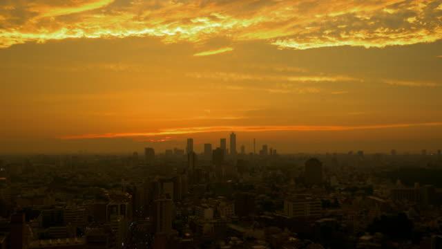 Tokyo Beautiful Sunset