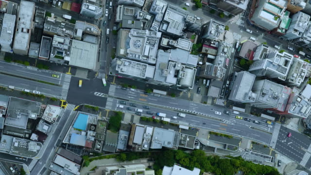 tokyo bird's eye view - elevated view stock videos & royalty-free footage