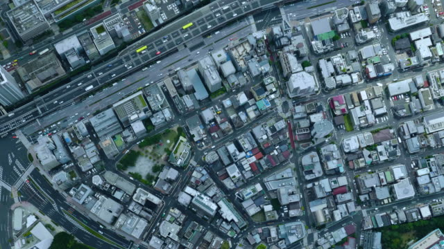 vídeos y material grabado en eventos de stock de tokyo bird's eye view - vista de población