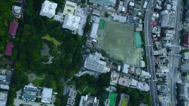 tokyo bird's eye view - 真俯瞰点の映像素材/bロール