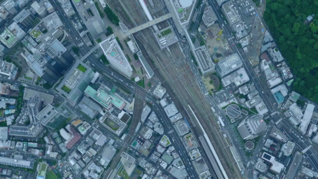 tokyo bird's eye view - town stock videos & royalty-free footage