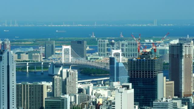 日本の東京の街のスカイライン - 都市景観点の映像素材/bロール