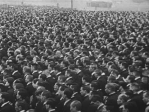tokyo city streets/ crowd in square - 1940 stock videos & royalty-free footage