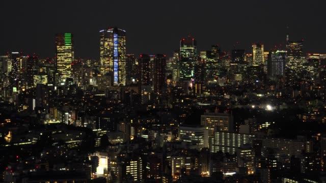 夕暮れ時の東京の街並 - 夕暮れ点の映像素材/bロール