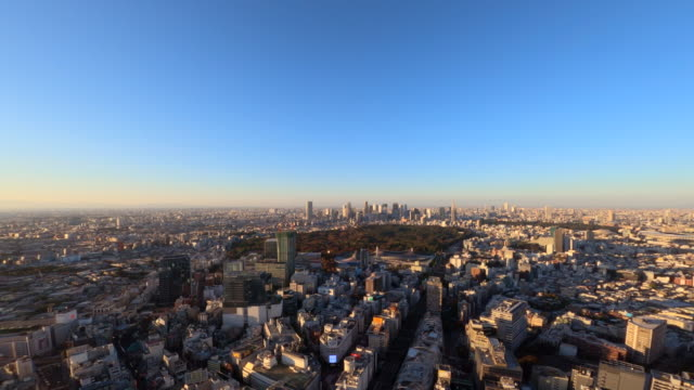 tokyo cityscape from shibuya - plusphoto stock videos & royalty-free footage
