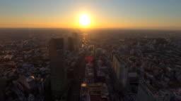 Tokyo cityscape from Shibuya