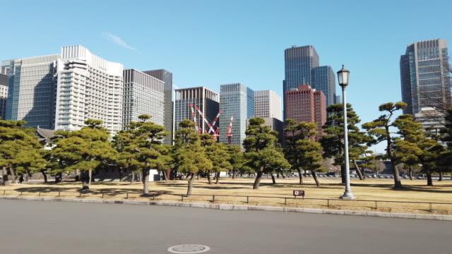 tokyo cityscape in tokyo , japan - marunouchi stock videos & royalty-free footage