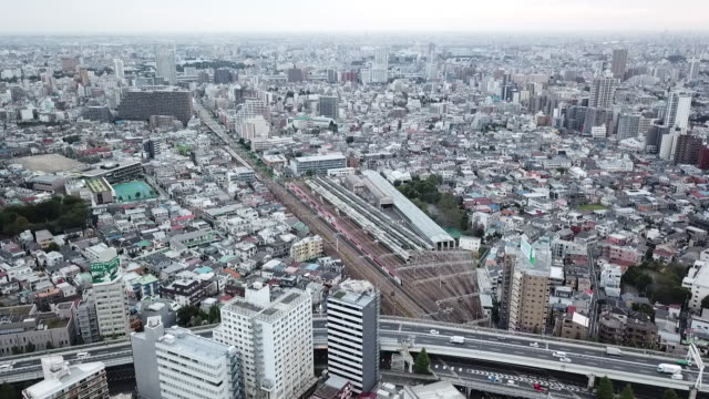 tokyo cityscape, japan - wide stock videos & royalty-free footage