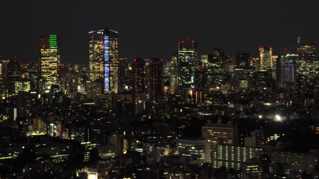 tokyo cityscape - roppongi hills stock videos and b-roll footage