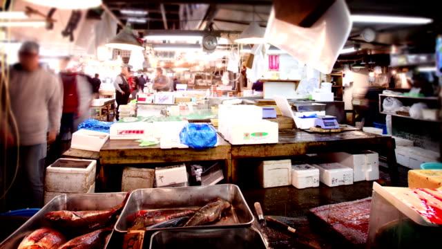 Tokyo Fish Market (Tsukiji), Japan