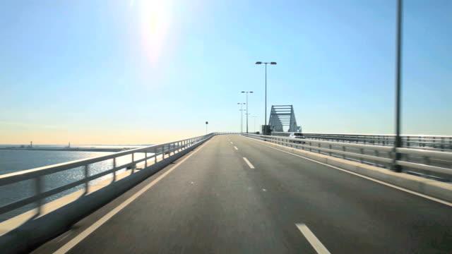 Tokyo gate bridge at sunny day