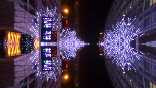 Tokyo Illumination drive mirroring in water