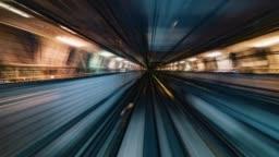 Tokyo, Japan, Timelapse  - Hyperlapse POV timelapse through Tokyo via the automated guideway transit called Yurikamome