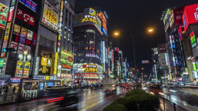 tokyo japan timelapse - japan stock videos & royalty-free footage