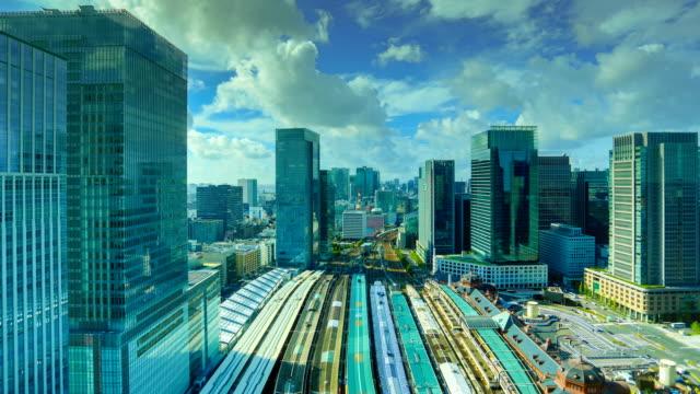 東京、日本:東京駅 - タクシー点の映像素材/bロール
