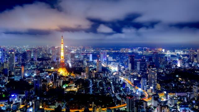 東京, 日本 - ネオンサイン点の映像素材/bロール