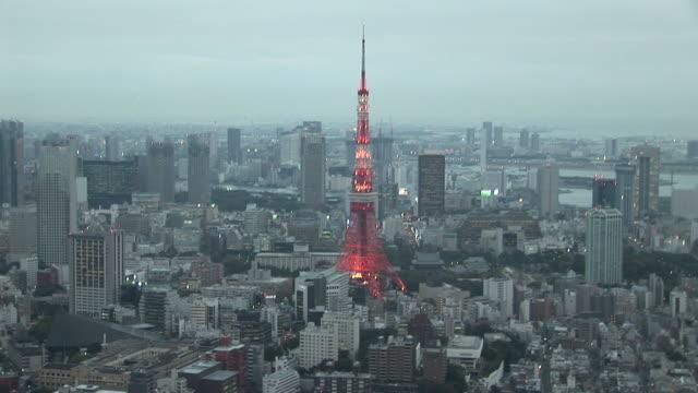 Tokyo, JapanTokyo Tower at magic hour in Tokyo Japan