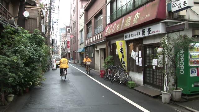 Tokyo, JapanView of a narrow street in Tokyo Japan