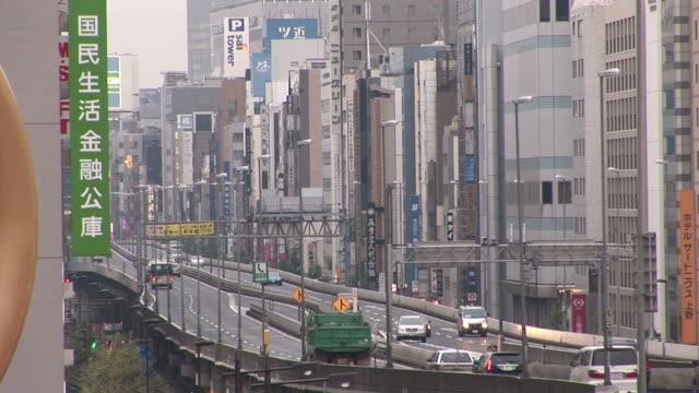 Tokyo, JapanView of freeways and flyovers in Tokyo Japan