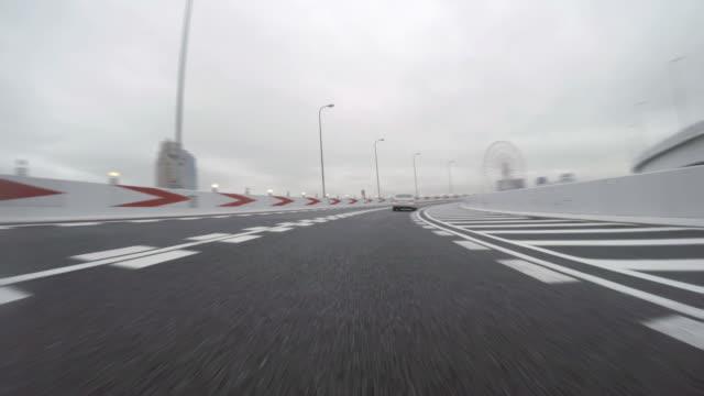 tokyo metropolitan drive - 4k- - plusphoto stock videos & royalty-free footage
