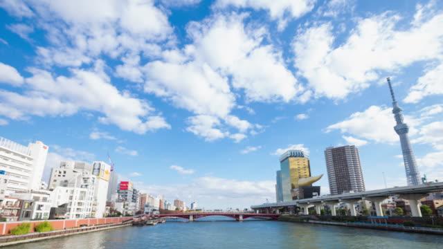 東京スカイツリー浅草で。日本 - スカイツリー点の映像素材/bロール