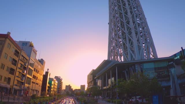 東京スカイツリー  - スカイツリー点の映像素材/bロール