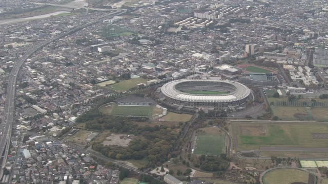 AERIAL, Tokyo Stadium And Musashino Forest Sport Center, Japan