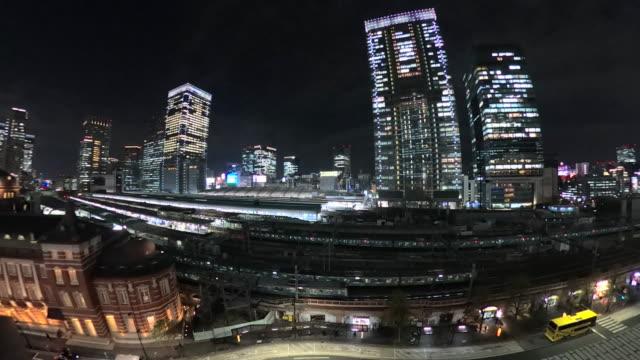 tokyo station at night / train - underground station platform stock videos & royalty-free footage
