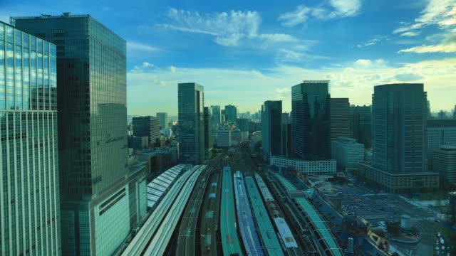 東京駅 - 商業地域点の映像素材/bロール